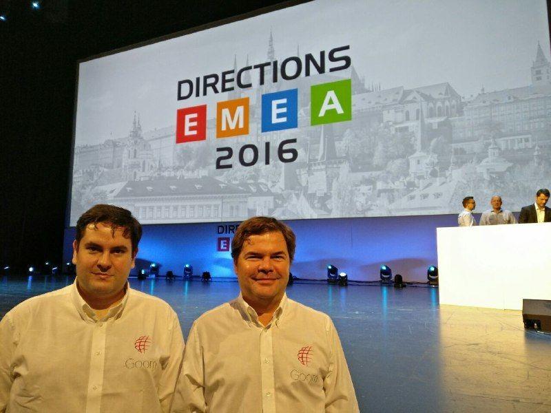 Goom en Directions EMEA 2016 en Praga.
