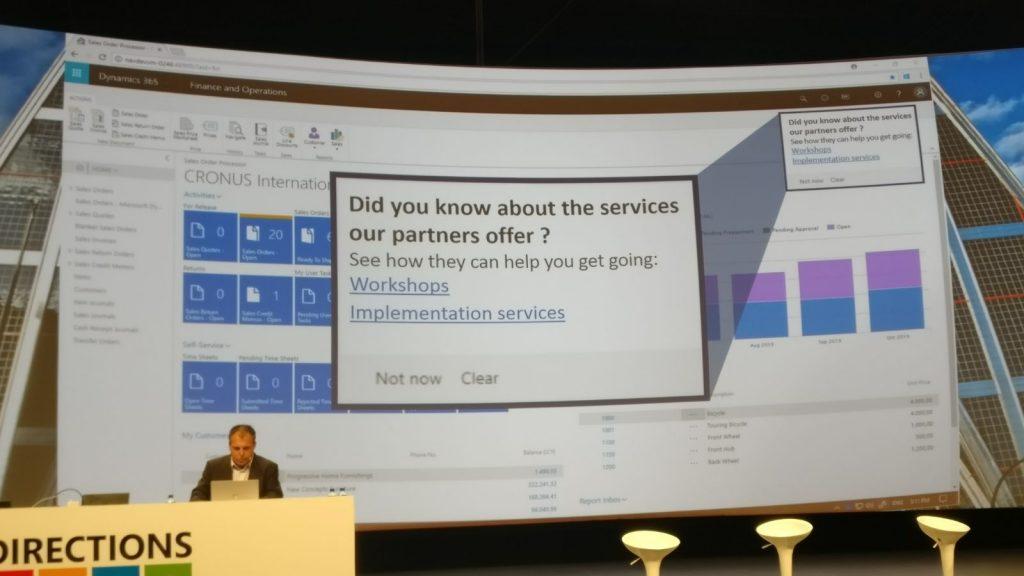 Nuevas funcionalidades en Microsoft Dynamics 365.