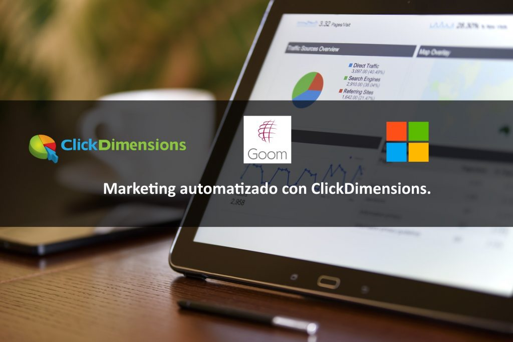 Marketing automatizado con ClickDimensions.
