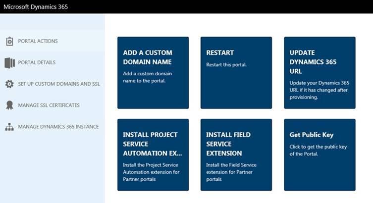 Contenidos en Microsoft Dynamics 365 Portals