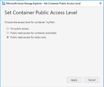 PowerApps_Seguridad en Azure Blob Storage