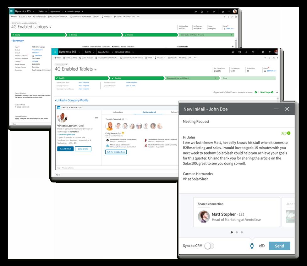 Microsoft Relationship Sales + LinkedIn Sales Navigator